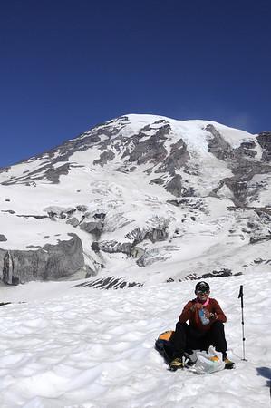 Mt Rainier, Team 4, 2011 Climb to Fight Breast Cancer