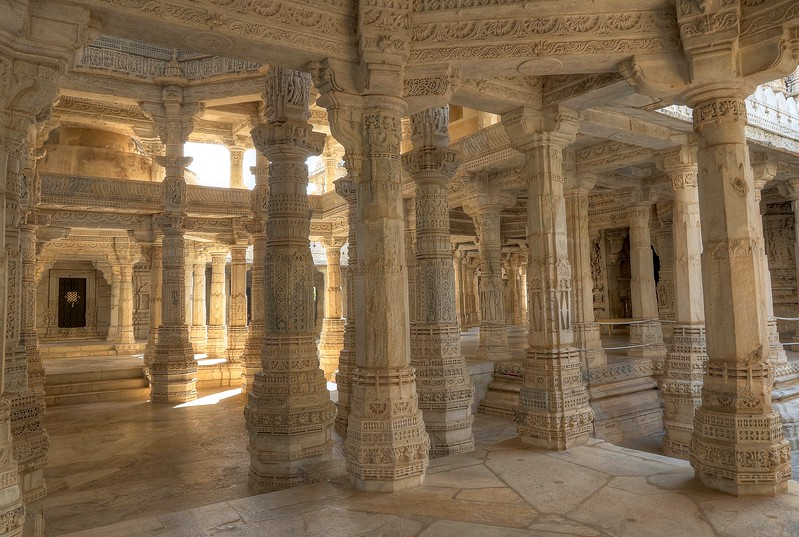 Walking amongst these hundreds of pillars was a dreamlike experience! - Ranakpur Jain Temple