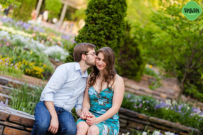 Nina & Jimmy | A Duke Gardens Engagement