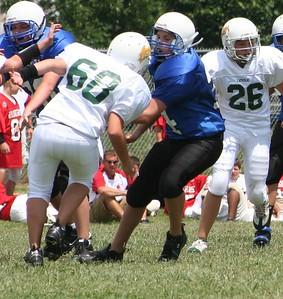 2008 Josh MS Football 7th grade