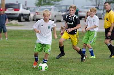 BU14Aqua - FC42 Locker Lime vs Crew Jrs West