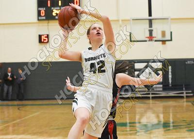 Mansfield - Whitman-Hanson Girls Basketball 2-26-19