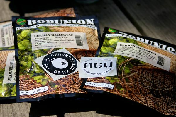 AGU Brew Day Roggenbier