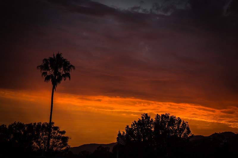 August 2 - Pre-storm sunset over Los Angeles.jpg