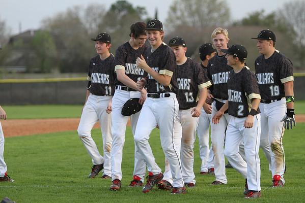 2015 JV Baseball vs. Lutheran South