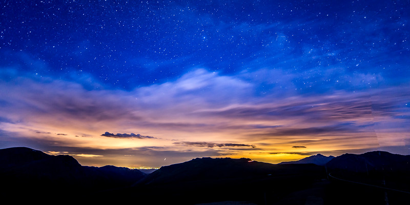 Night at Rocky Mountain National Park 2x1