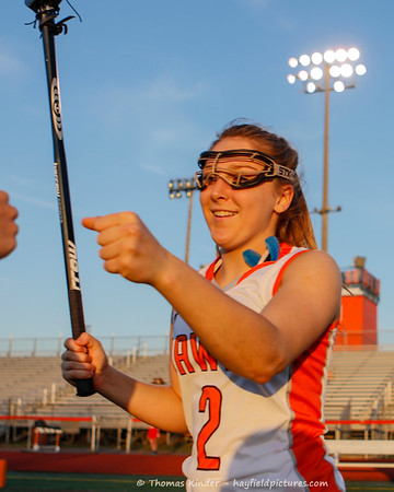 Girls Varsity Lacrosse vs McLean 4/26/17