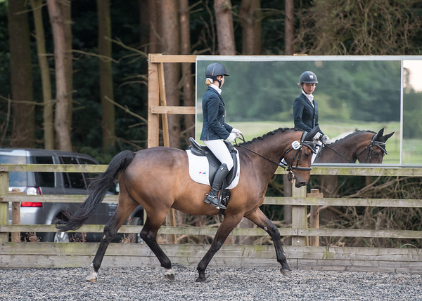 Pump House Riding Club - Dressage - Tue 25 July 17