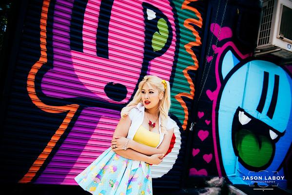 RX Barbie at Bushwick Collective