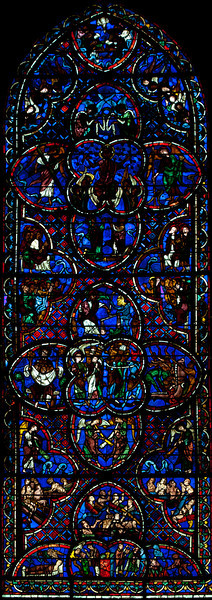 Bourges Cathedral Last Judgment Window