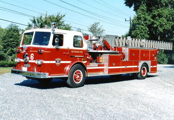 Company 6 - Bethesda Fire Department
