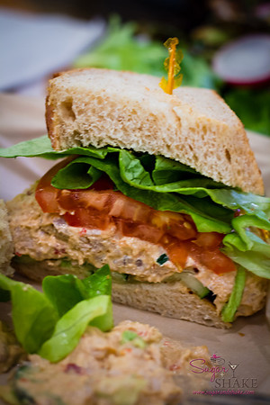 Spicy Tuna Salad Sandwich at Leoda's Kitchen & Pie Shop. © 2013 Sugar + Shake