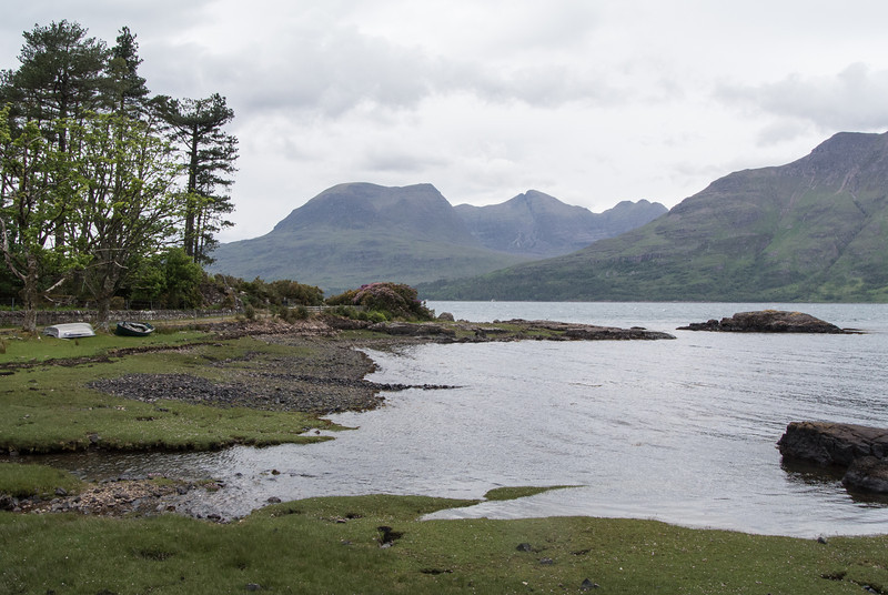 Hotel was located on a sea loch (bay/fiord connected to the sea).