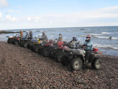 COPPER HARBOR ATV TRIP SEPT 18-21, 2012