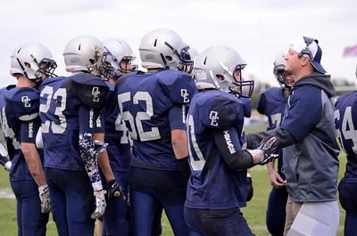 OE soph. football Vs Oswego 2014