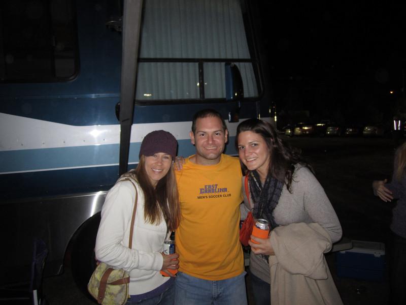 11/19/2011 ECU vs University of Central Florida - Kelly, Jon, Kristin