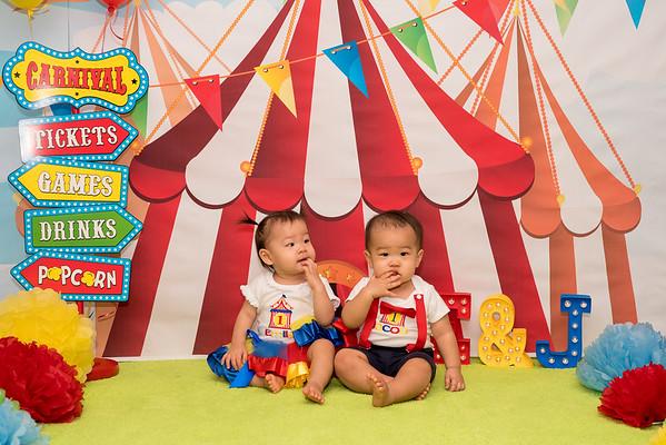 Emily & Jacob's 1st birthday