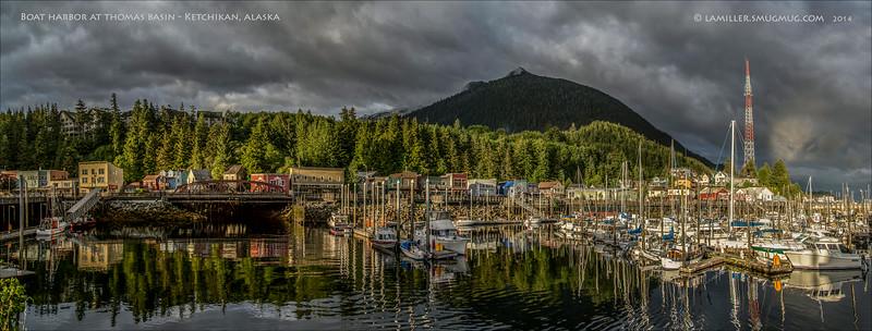 Boat harbor at Thomas Basin, Ketchikan