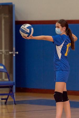 Girls Latin School Volleyball - 2021
