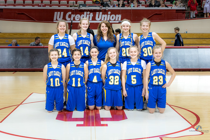2018 Hawks in the Hall Brown County Girls Team Photo.jpg
