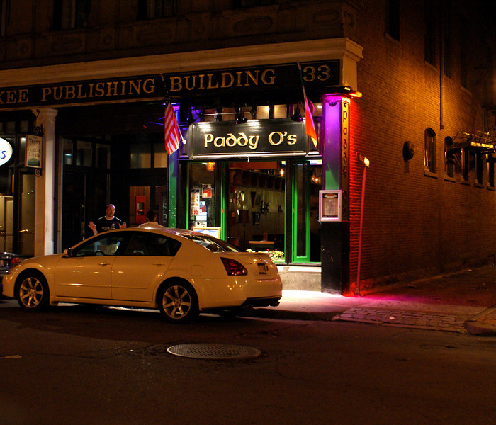 Paddy O-Colors: A small bar in Boston, nothing special about it...I just like the colors