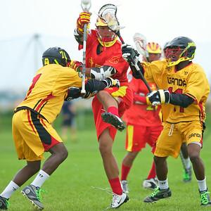 Game Seven Uganda  7 - China 14  Friday July 18