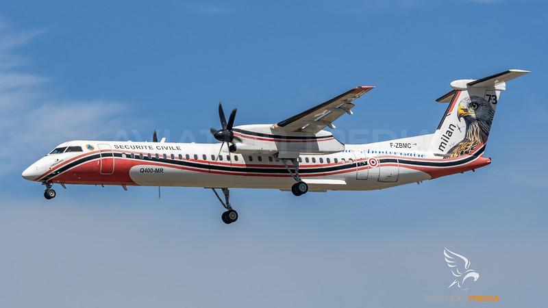 Securite Civile / Bombardier Dash 8 Q400 MR / F-ZBMC 73