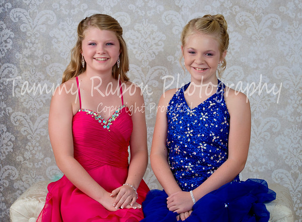 Kenzie and Anna Grace 2015