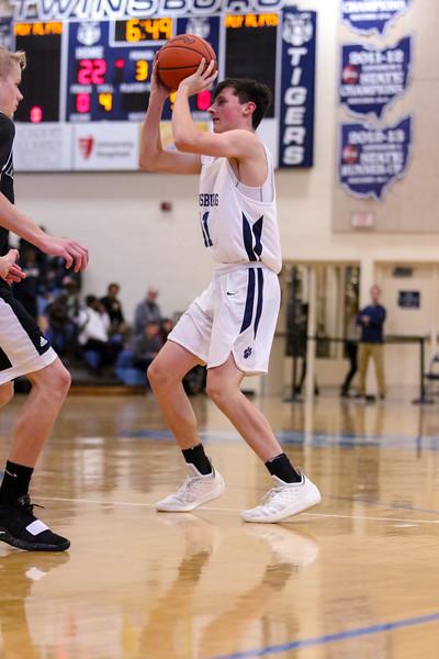 2019-01-11 -- Twinsburg Boys Junior Varsity Basketball vs Nordonia Junior Varsity Basketball