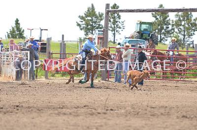 Calf Roping 06-22-13 Slack
