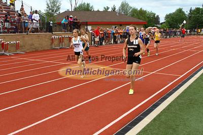 D1 Girls 800M Finals - 2013 MHSAA LP Track and Field