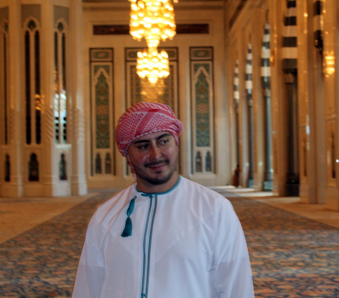 Sultan Qaboos Grand Mosque, Muscat, Oman – Josef Rokus