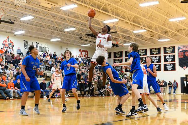 NDHS Basketball vs Oak Grove 2020