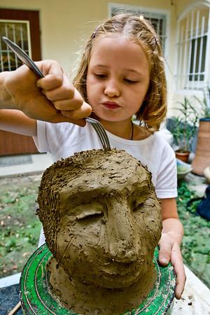 Keramikkurs Kinder - September 2008