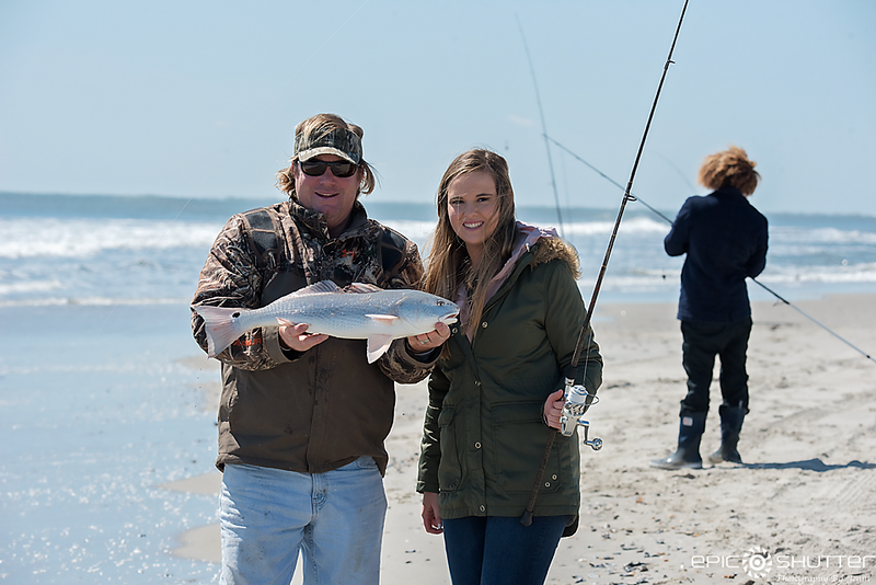 March 23, 2018 Captain Aaron Aaron, Tightline Charters, Tightline Aaron, Drum Fishing, Ocracoke Island, North Carolina, Puppy Drum Fishing, Surf Fishing, Epic Shutter Photography, Outer Banks Photographers,