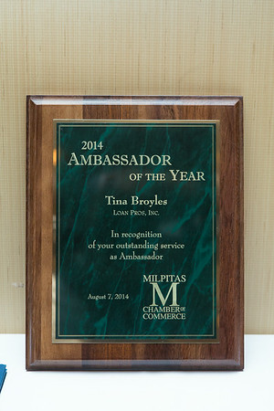 Milpitas  Chamber Awards 2014