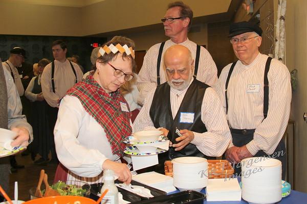 Feb 2019 FACA Program - Laskiainen, Pea Soup, Finn Hall, Kisarit