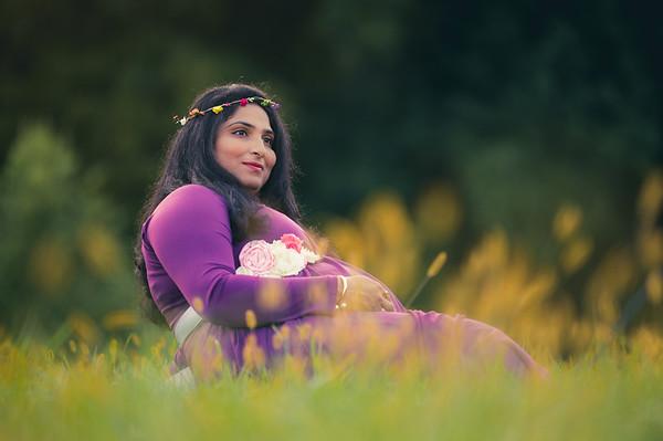 KeerthiPriyanka Maternity Shoot
