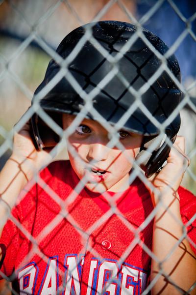 Caden's Baseball Portraits