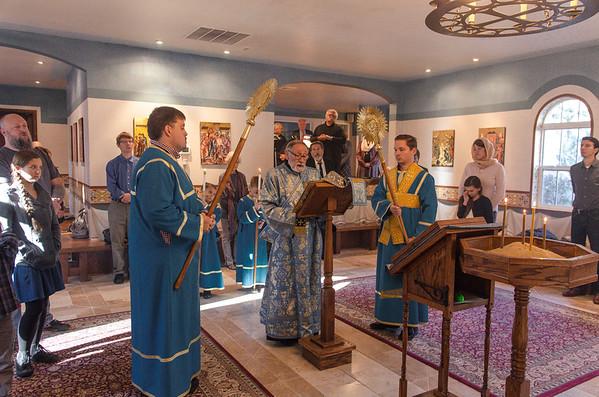 Liturgy at Christ The Savior (Thanksgiving Weekend 2017)
