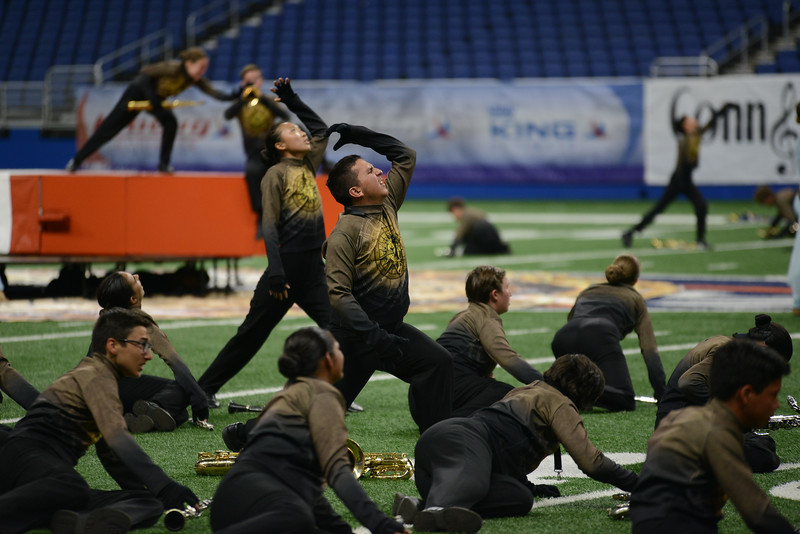 Vista Ridge High School competes in the final round of the 6A UIL State Marching Band Championship, Tuesday, Nov. 6, 2018. The Rangers ended their season by securing the school's first state marching band championship!