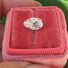 2.13ct Antique Pear Shape Diamond, GIA I, VS2 27