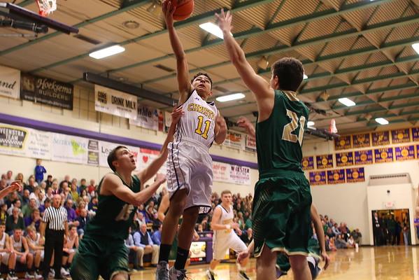 Basketball Boys vs. Hackett - KCHS - 2/26/16