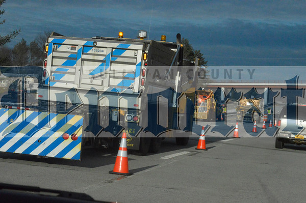 17W Tractor Trailer Accident 11.10.14