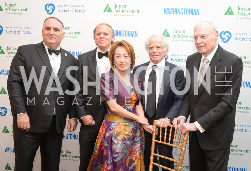 The Washington Business Hall of Fame, at the National Building Museum, November 28, 2018.  Photo by Ben Droz.