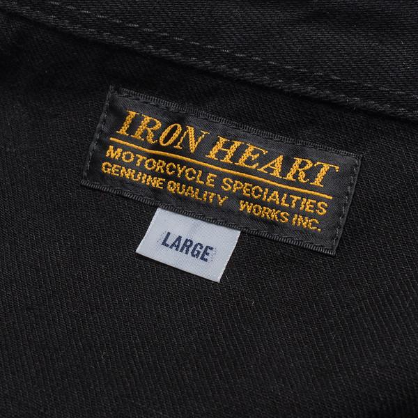 IHSH-166 - Superblack 12oz Selvedge Denim CPO Style Western Shirt-6236.jpg