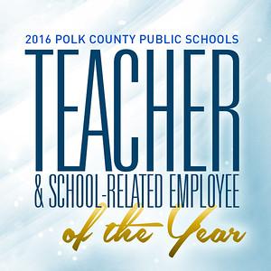 2016 Teacher/School-Related Employee of the Year