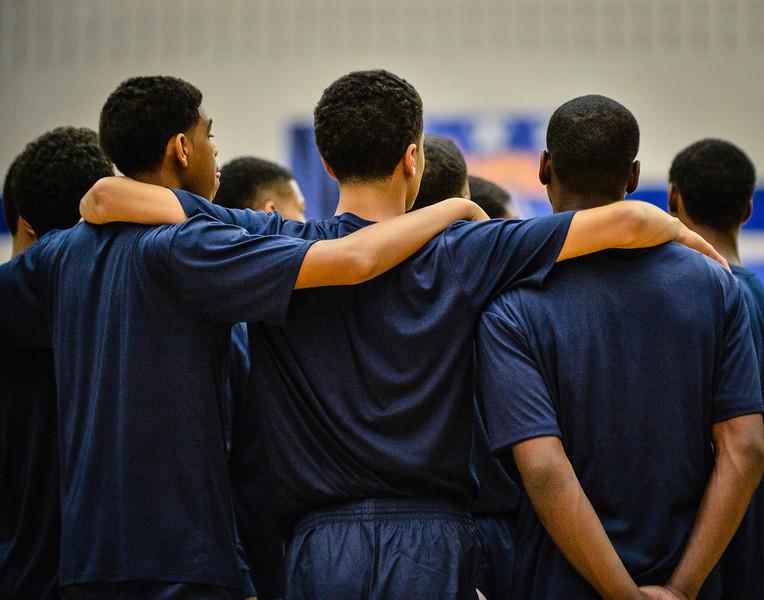 Basketball Boys Varsity vs  Lamar 01-21-14-2