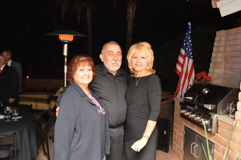 Rita Brock-Perini, Manny and Patsy Lugo