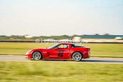 Red C6 Corvette Z06 #22